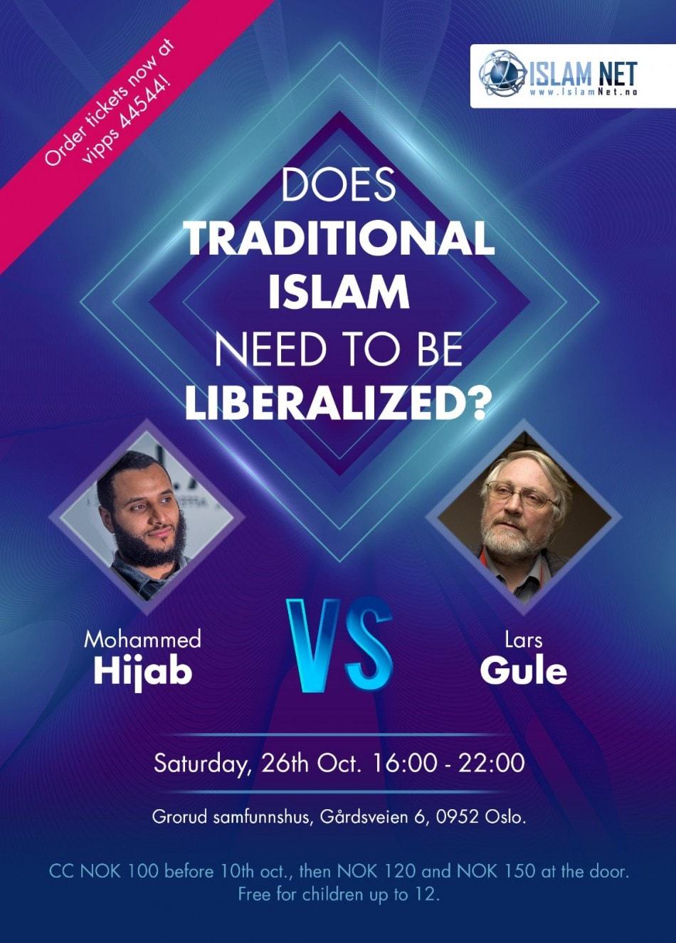 Bør tradisjonell islam liberaliseres?