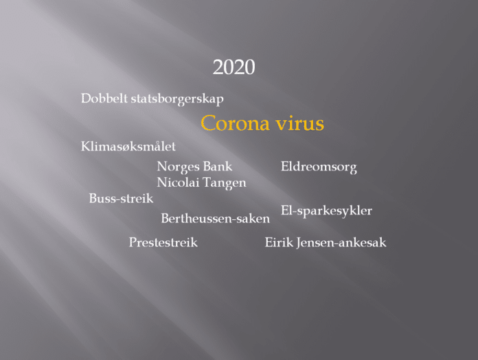 Nyhetssaker 2020