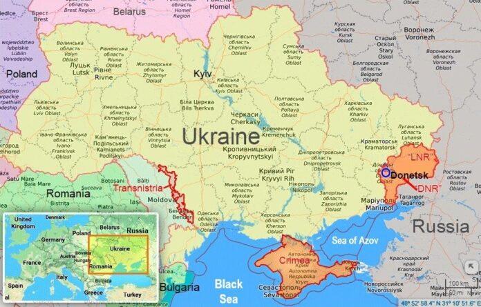 Øst-Ukraina og Russland